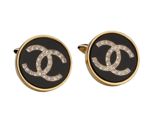DUPONT GOLD PLATED CUFFLINKS