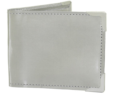 Double Zipper Leather Wallet