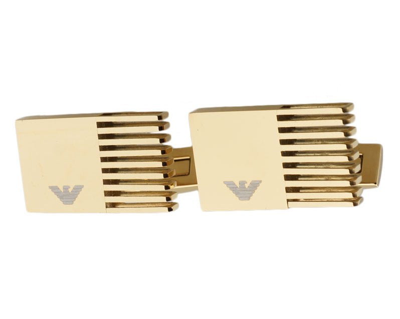 Emporio Armani inspired gold plated cufflinks