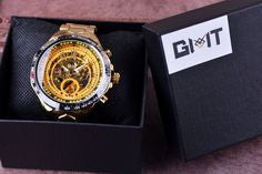 Winner Sport Gold Watch