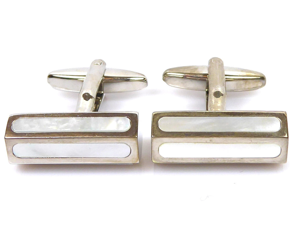 Elegant Shell cufflinks