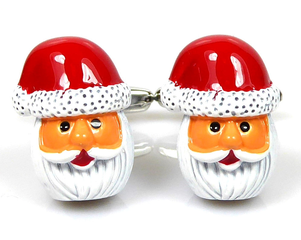 FATHER CHRISTMAS SANTA CLAUS CUFFLINKS