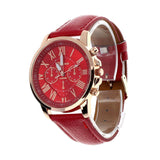 Quartz Roman numeral watch