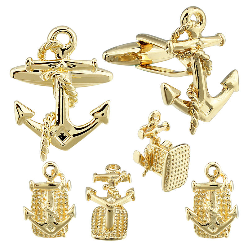 Anchors Cufflinks with Studs