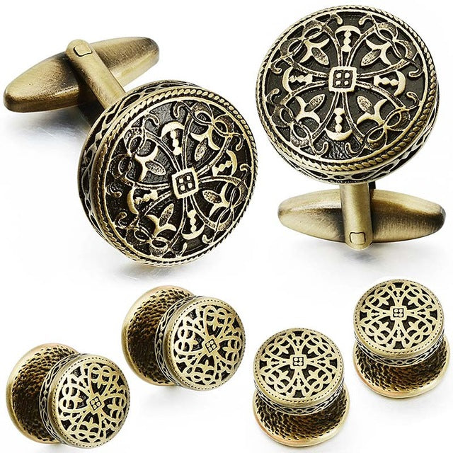 Vintage Cufflinks and Tuxedo Shirt Studs