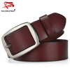 SWORDFISH 100% cowhide genuine leather belt