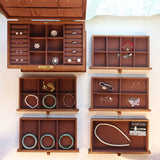 6-Layer Wooden Jewelry Box