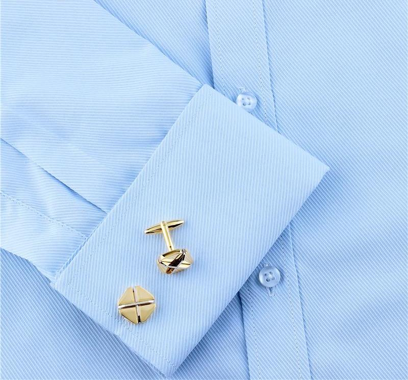 Shinny Golden Cufflinks