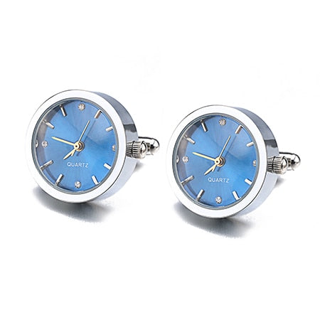 Clock Design Cufflinks