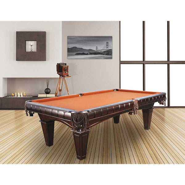 Presidential Kruger Pool Table with Tapered Legs
