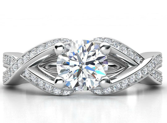 1CTW Eternal Diamond Ring 14Kt White Gold