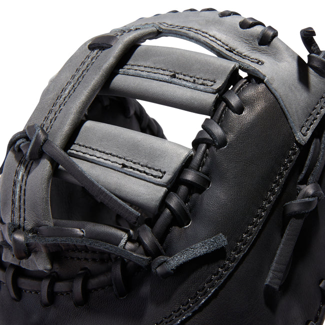 "adidas eqt 1250 fb 12.5"" baseball first base mitt az9145 black grey"