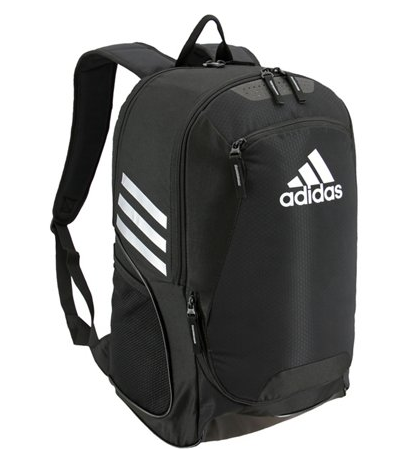 adidas stadium ii 2 backpack black white 5144034 soccer basketball volleyball team bag