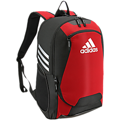 adidas stadium ii 2 backpack red black white 5144035 soccer basketball volleyball team bag