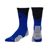 adidas traxion impact crew socks blue black grey 5138534 basketball sock sale closeout