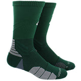 adidas traxion menace crew socks dark green white onix grey 5139745 basketball sock sale closeout