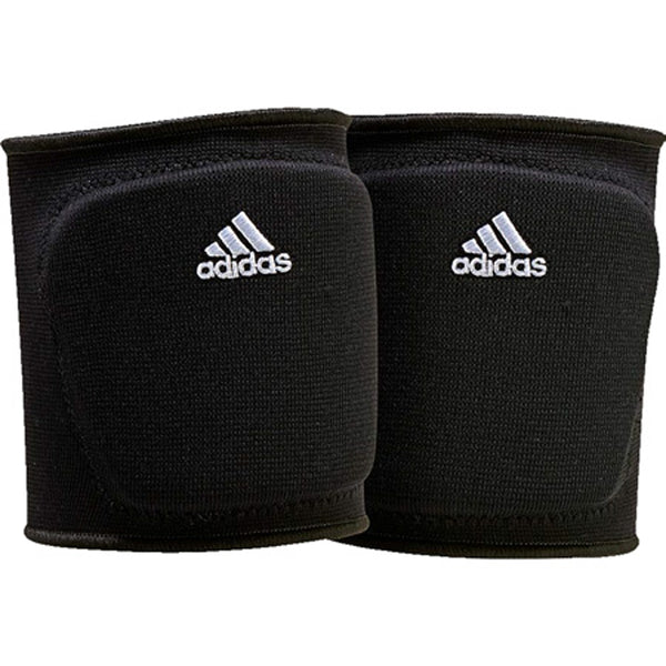 "adidas 5 inch youth volleyball knee pad black white ce5305 girls 5"" 5in 5-inch kp"
