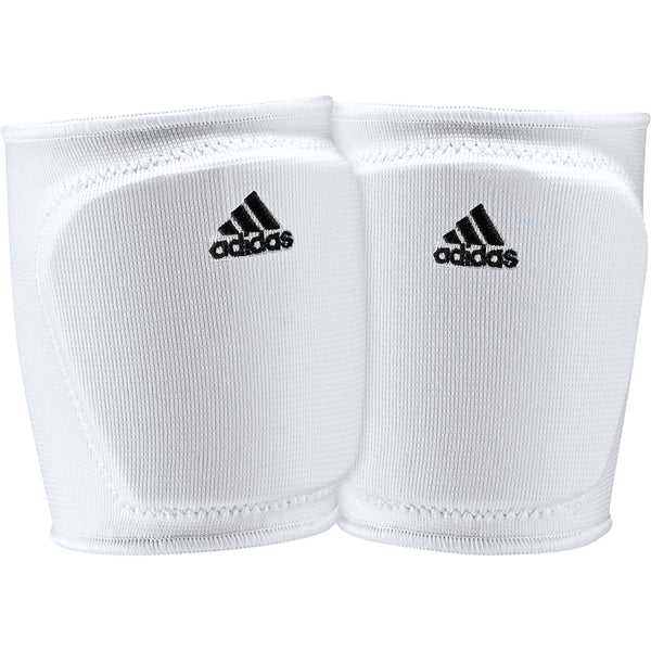 "adidas 5 inch youth volleyball knee pad white black ce5306 girls 5"" 5in 5-inch kp"