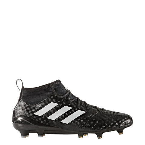 adidas ace 17.1 primeknit fg bb4317 black white night metallic soccer cleat
