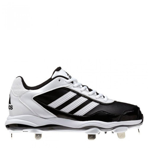 adidas women's abbott pro metal 2 softball cleats black white g59131 sale closeout