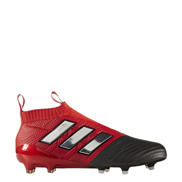 adidas ace 17+ purecontrol fg red black bb4314 soccer cleat