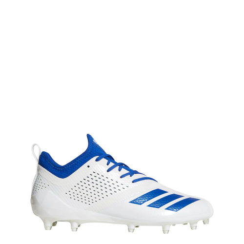adidas adizero 5-star 7.0 low football cleats white collegiate royal blue da9548 mens cleat