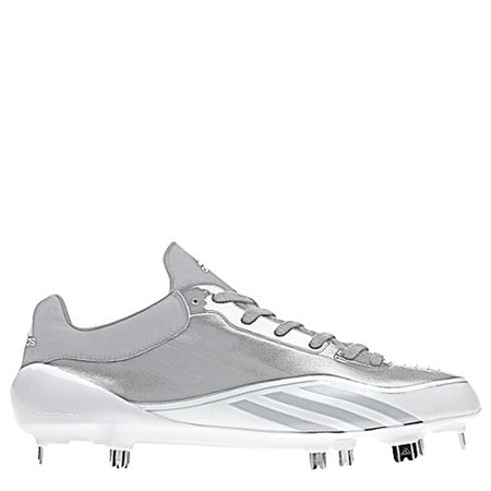 Adidas Men's PowerAlley 5 Metal Baseball Cleats - Black - B39181