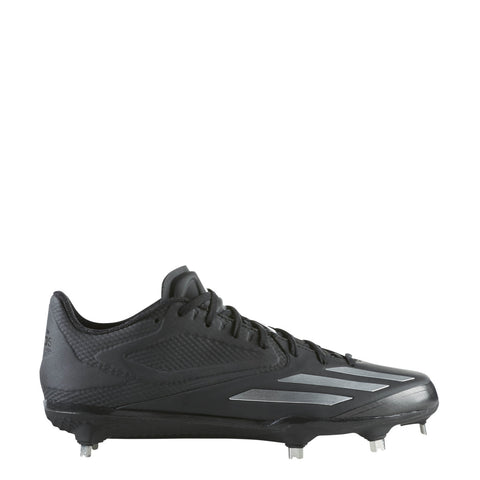 adidas adizero afterburner 3 baseball cleat black silver q16563
