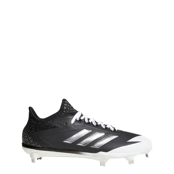 buy popular 185fc ff6bd adidas adizero afterburner 4 metal baseball cleats black silver white  cg4782 men s mens cleat