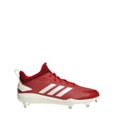 adidas adizero afterburner 5 v metal baseball cleat power red white carbon cg5217 2019 mens men's men best baseball cleats low-cut mid-cut