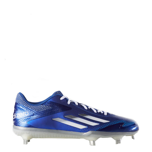 adidas men's afterburner 2 2.0 baseball cleats royal blue white s84702 sale closeout