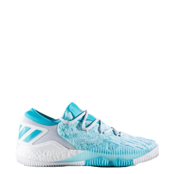 the best attitude e0cb0 f64d6 ... discount adidas mens crazylight boost low 2016 pk basketball shoe aqua  blue white grey bb8178 crazy
