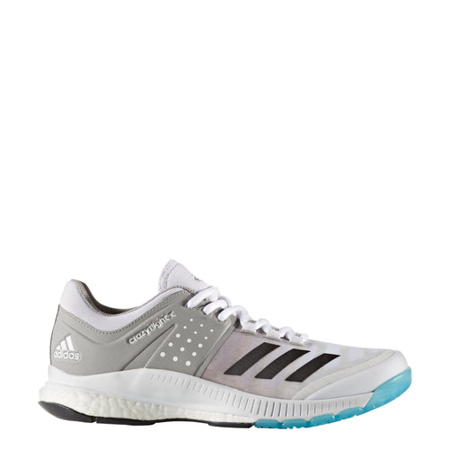 adidas women's crazyflight x volleyball shoes white night grey gray ba9266 women women boost crazy flight volleyball shoe sale closeout