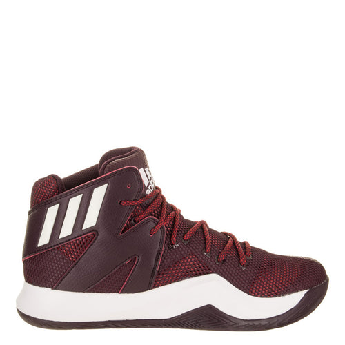 adidas crazy bounce maroon white power red mens basketball shoes aq7437 sale closeout