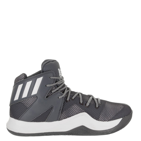 680dfb4e841ee adidas crazy bounce onix grey white light grey mens basketball shoes b72765  sale closeout