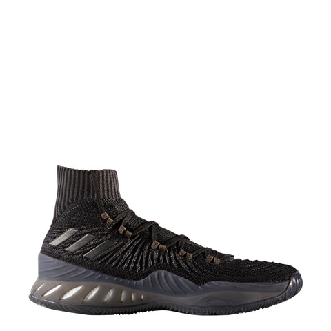 adidas crazy explosive 2017 primeknit pk black grey gray basketball shoe shoes men mens by3764