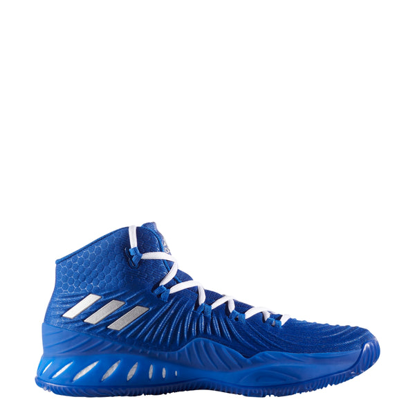 adidas crazy explosive 2017 royal blue silver white basketball shoe by3770