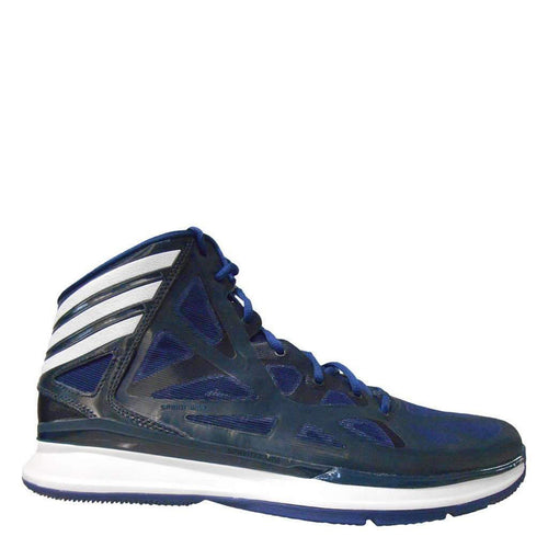 adidas crazy shadow 2 navy blue white mens basketball shoes q33386 sale closeout