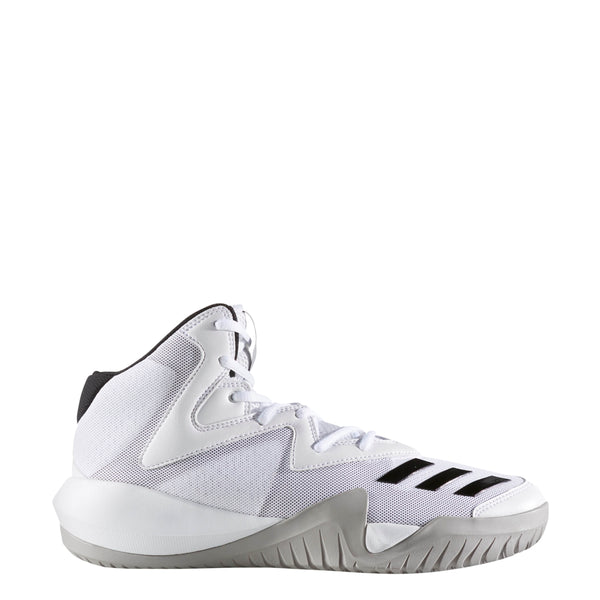 adidas mens crazy team 2017 basketball shoe white black grey by3927 men sale closeout clearance shoes