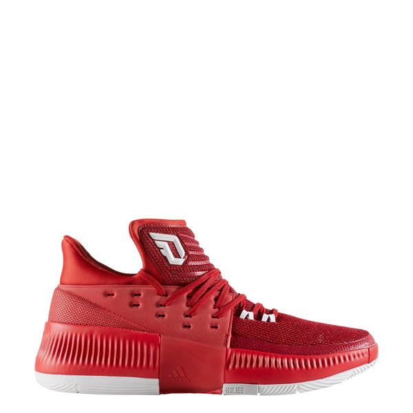 adidas dame 3 red d lillard basketball shoe by3192