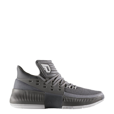 adidas dame 3 grey d lillard basketball shoe by3193