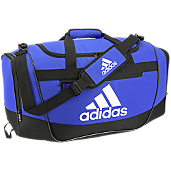 adidas defender iii duffel bag medium bold blue royal black white 5144027 soccer volleyball basketball team travel bags