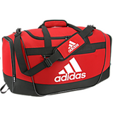 adidas defender iii duffel bag medium power red black white scarlet 5143962 soccer volleyball basketball team travel bags