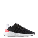 adidas eqt support 93/17 running shoe core black turbo red white bb1234 men mens equipment adv primeknit boost shoes sale closeout clearance rare