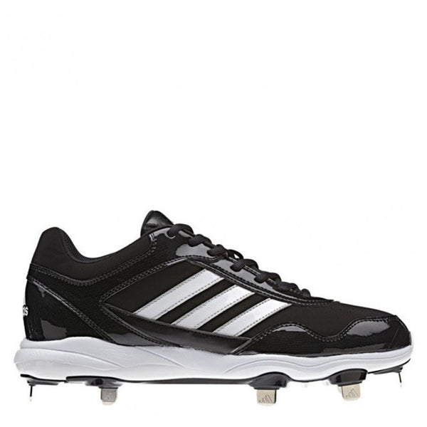 adidas men's excelsior pro metal low metal baseball cleats black white g59119 sale closeout