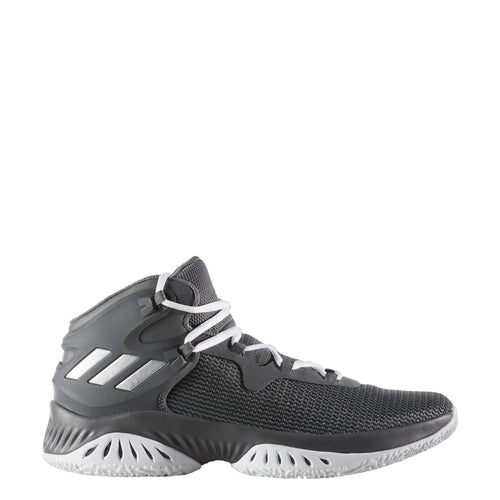 adidas explosive bounce men's basketball shoes grey silver white gray by3779 men mens shoe sale clearance closeout