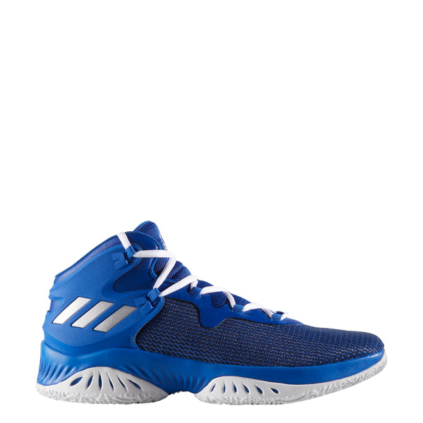adidas explosive bounce royal blue white basketball shoes by3781 men men's mens shoe sale clearance closeout