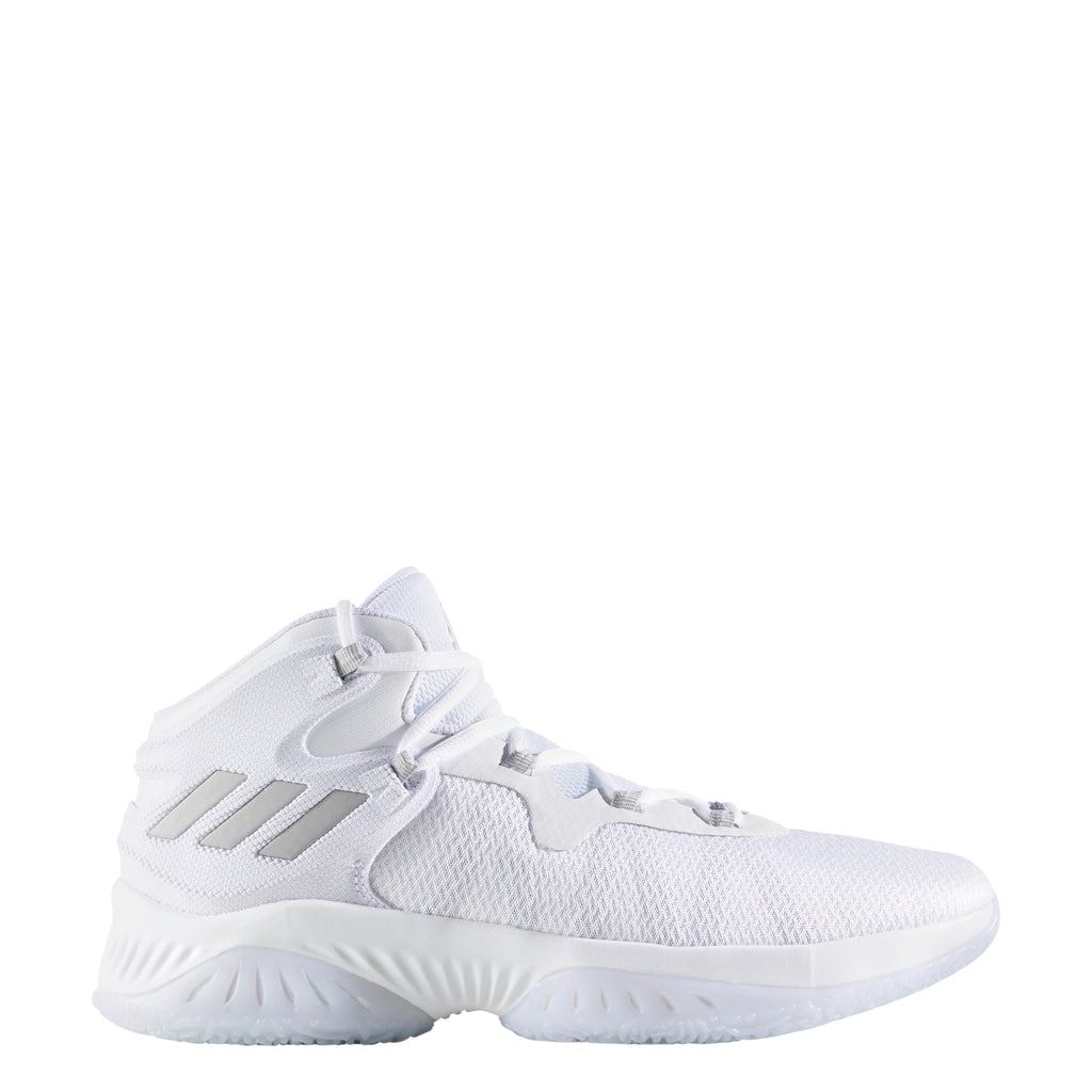 fee7026c80e76 Mens Adidas Explosive Bounce White Grey BY4467