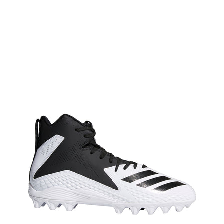 Adidas Men's Freak X Carbon Mid Football Cleats - Black / White - B37101
