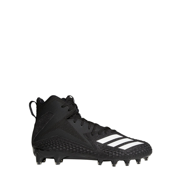 Adidas Men's Freak X Carbon Mid Football Cleats Black White B37101